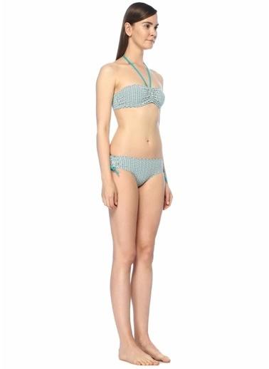 Dnud Straplez Bikini Takım Mavi